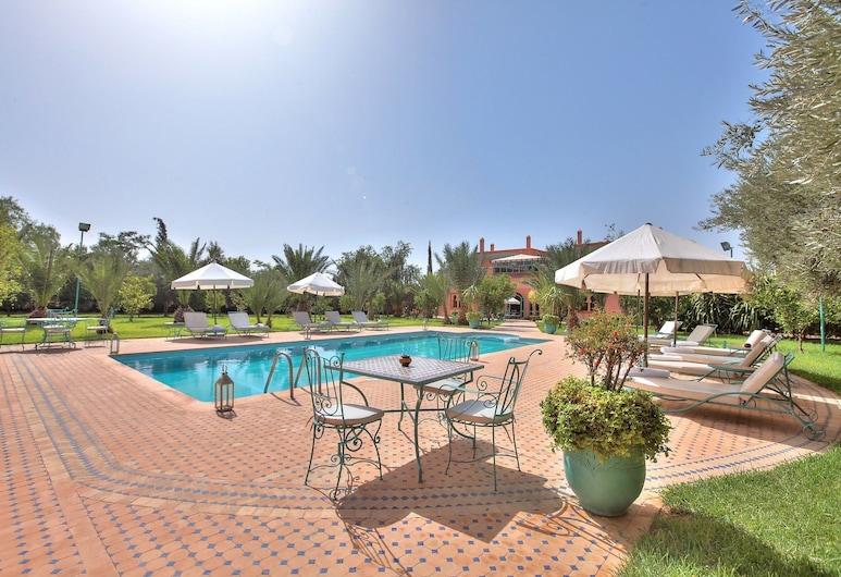 達米亞帕爾米爾斯別墅酒店, 馬拉喀什, 泳池