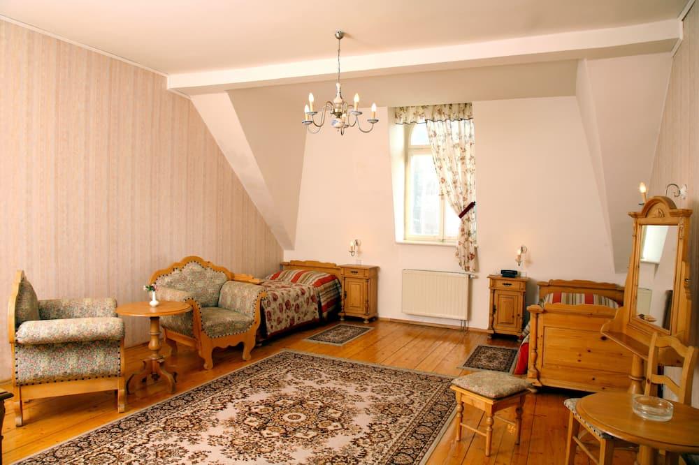 Двомісний номер (1 двоспальне або 2 односпальних ліжка) - Житлова площа