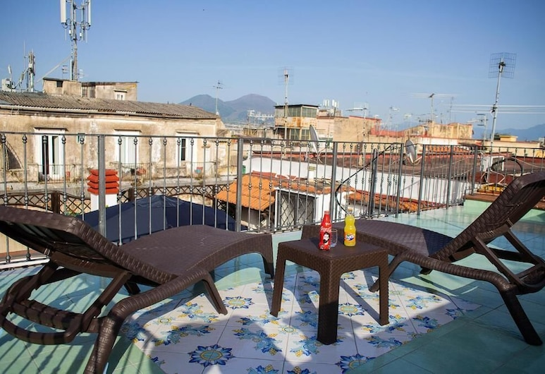 بد بوتيك نابولي كلرز, نابولي, جناح إستديو بانوراما - بشرفة - منظر للمدينة (Pesco), منظر من الشرفة