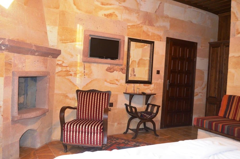 Deluxe-værelse - 1 soveværelse - ryger - Opholdsområde