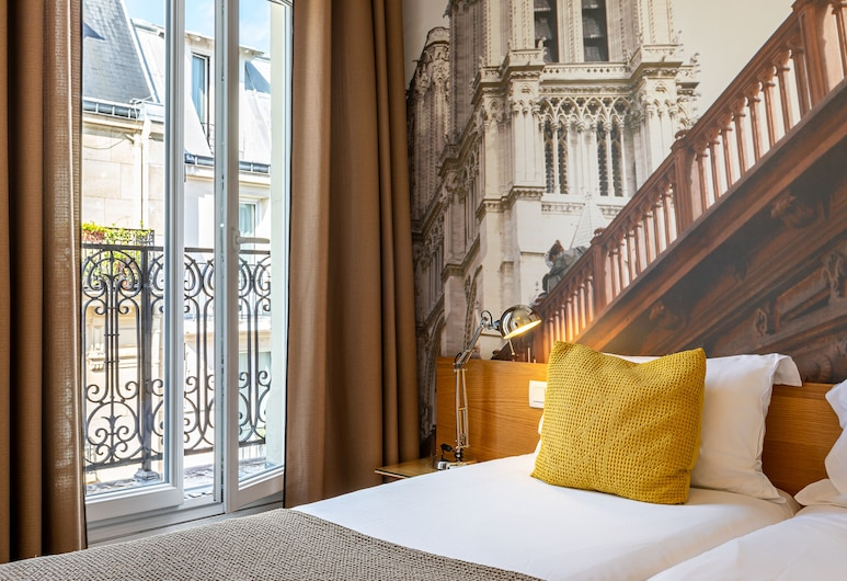 Le 20 Prieure Hotel, Paris, Tremannsrom, Gjesterom