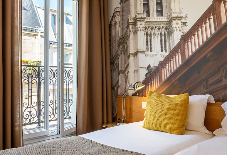 르 20 프리외르 호텔, 파리, 트리플룸, 객실