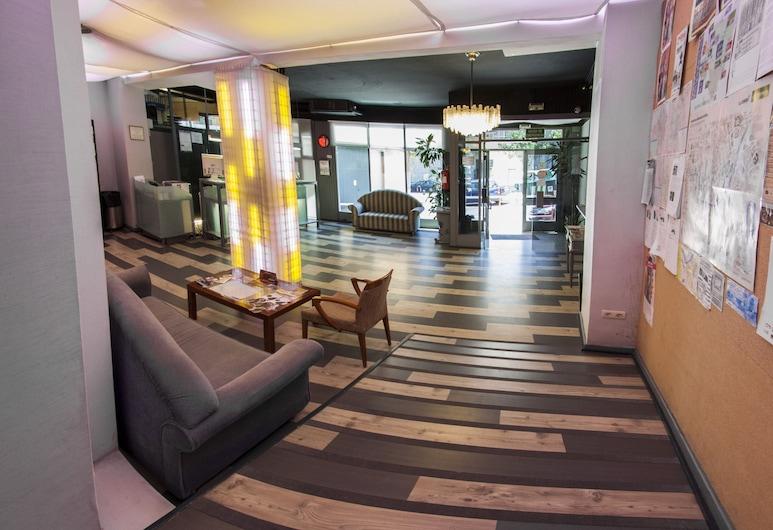 Hotel Bilbi, Bilbao, Ieejas interjers