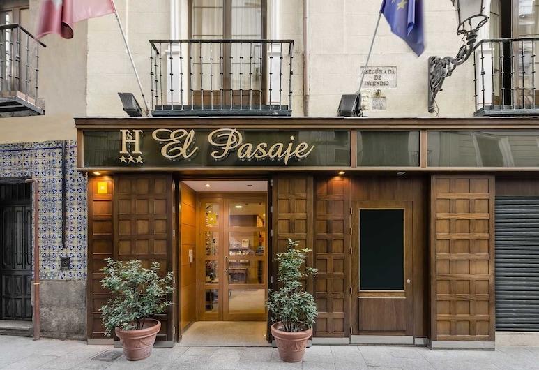 هوستل إل باساجي, مدريد, واجهة الفندق