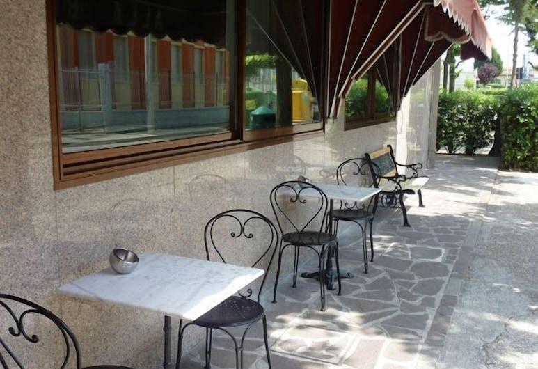 Hotel Alla Bianca, Mestre, Dinerruimte buiten