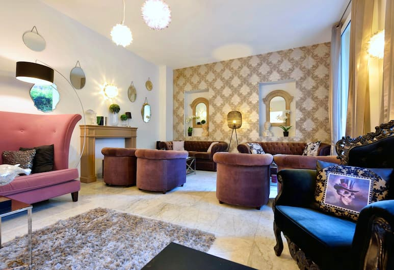 La Villa Nice Promenade, Nice, Priestory na sedenie v hale