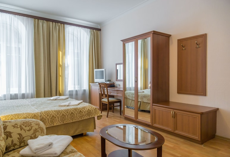 Nouvelle Europe, Szentpétervár, Elite szoba kétszemélyes ággyal, Vendégszoba