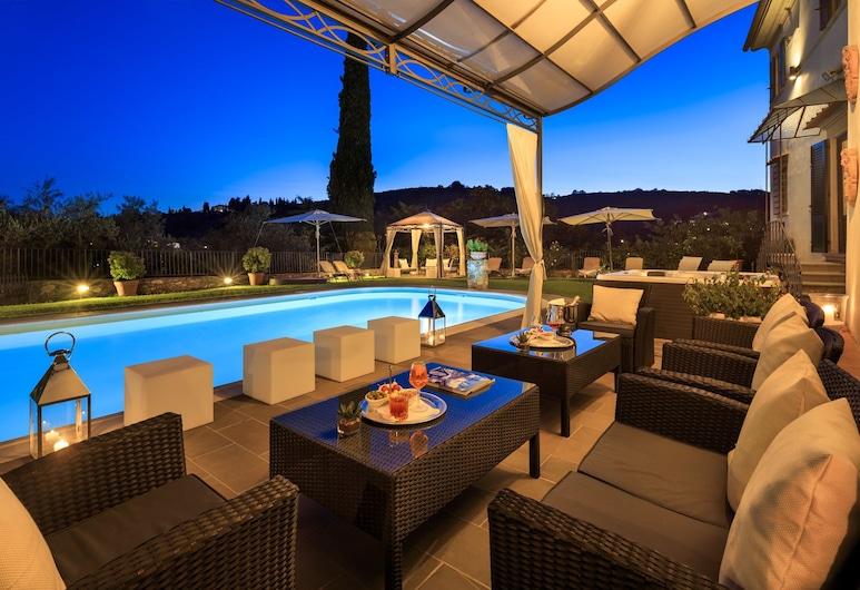 Villa il Sasso - Dimora d'epoca, Bagno a Ripoli, Quầy bar bên hồ bơi