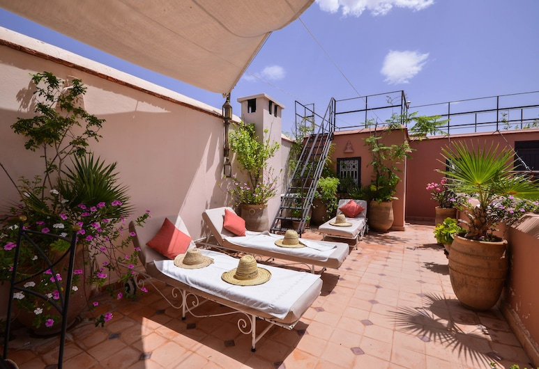 Riad Soumia, Marrakech, Terraza o patio