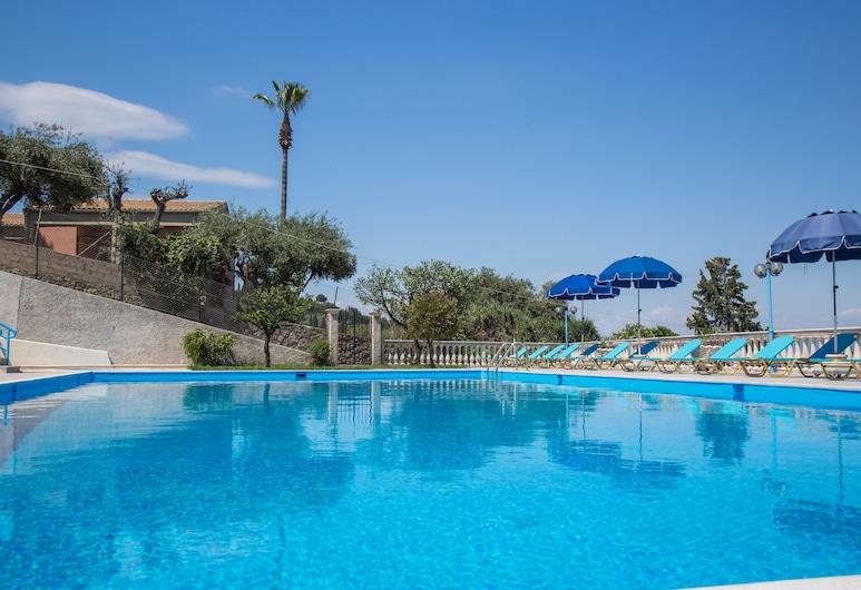 Brentanos Apartments ~ A ~ View of Paradise, Corfu, Piscina Exterior