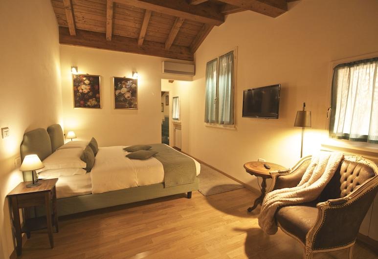 Casa Miramonte Charming House, Bologna, Superior kamer, 1 twee- of 2 eenpersoonsbedden, Kamer