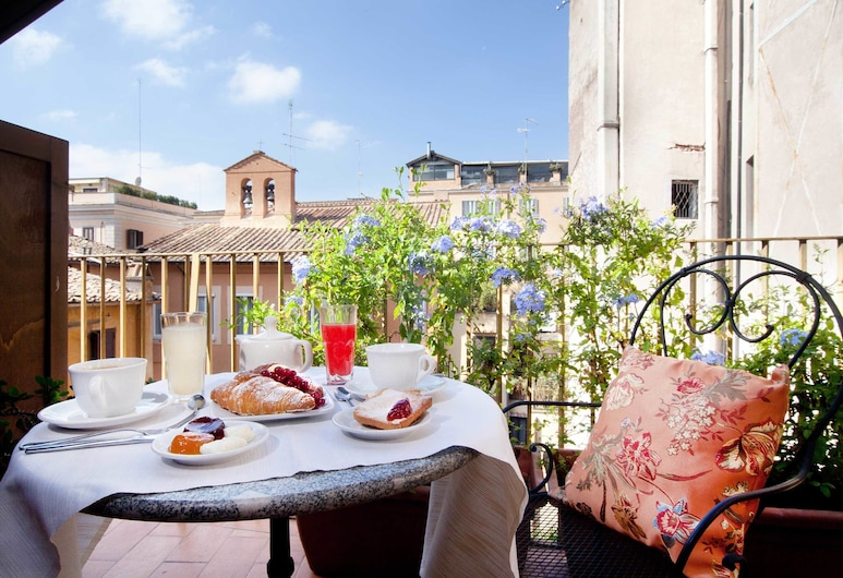 Pantheon Inn, Rome, Standard Double or Twin Room, Balcony