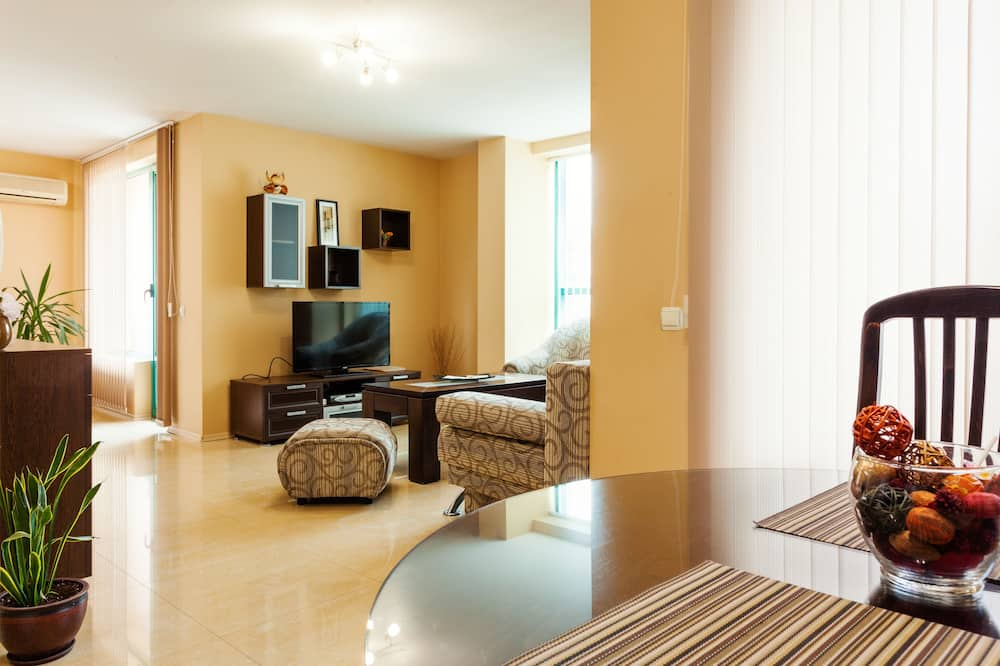 Large Apartment, 2 Bedroom   - Living Room