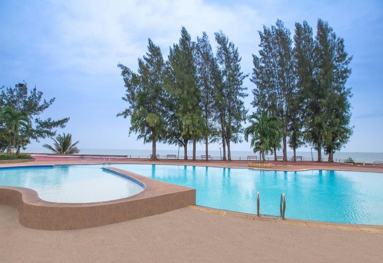 查安歐亞蘭宮酒店, 七岩, 泳池