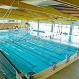 Alberca de natación o entrenamiento