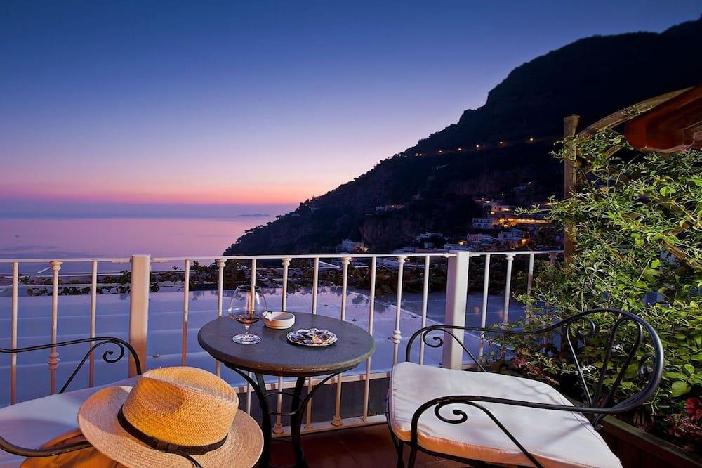 Chambre Double Standard, 1 chambre, terrasse, vue mer - Terrasse/Patio
