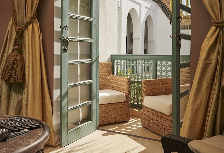 Ryad Dyor, Marrakesch, Suite, Terrasse (Arab), Wohnbereich