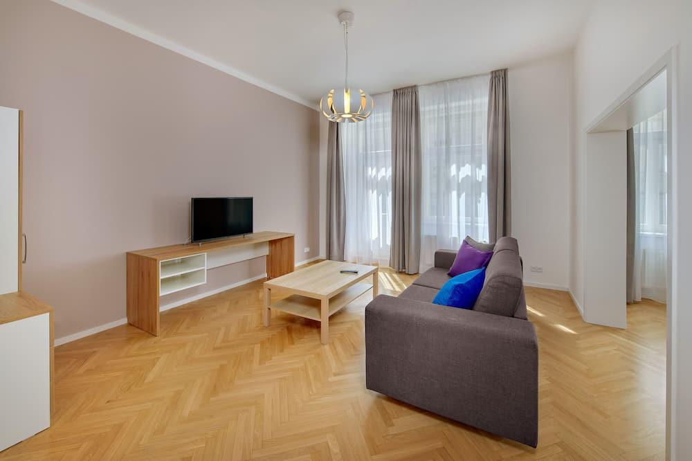 Apartamento família, 2 quartos - Sala