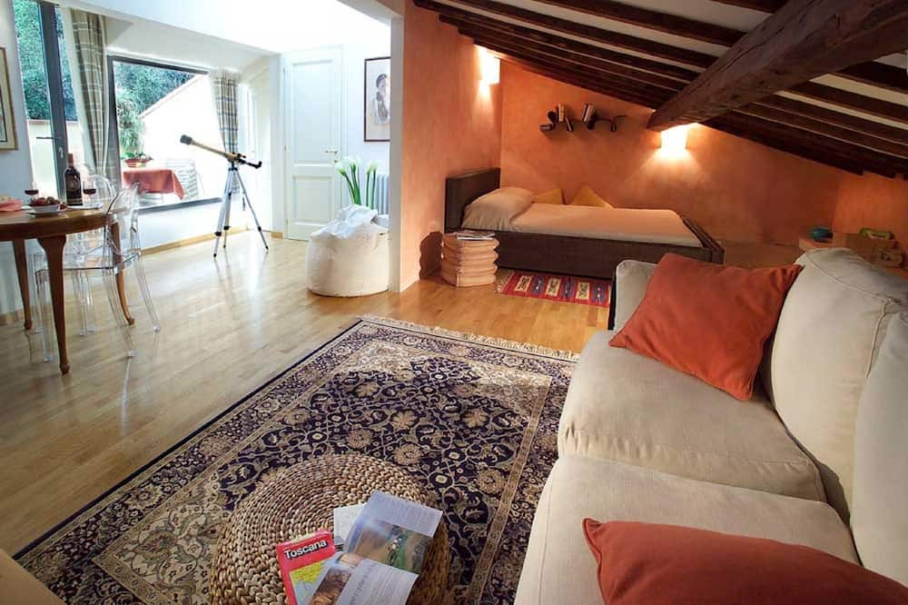 Exclusive Studio Suite, Terrace, Garden View - Ruang Tamu