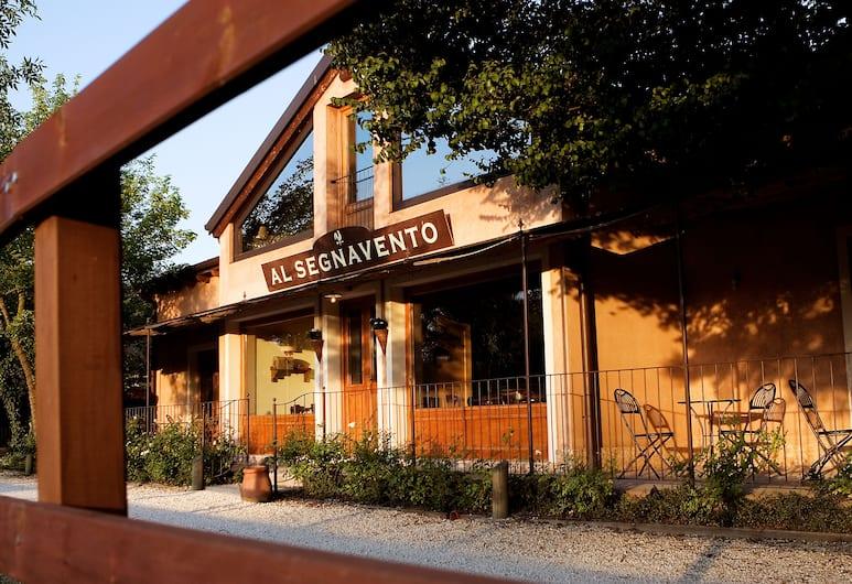Al Segnavento, Mestre, Facciata hotel