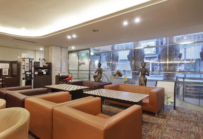 โรงแรมเดอะ โดทนโบริ, โอซาก้า, บริเวณนั่งเล่นที่ล็อบบี้