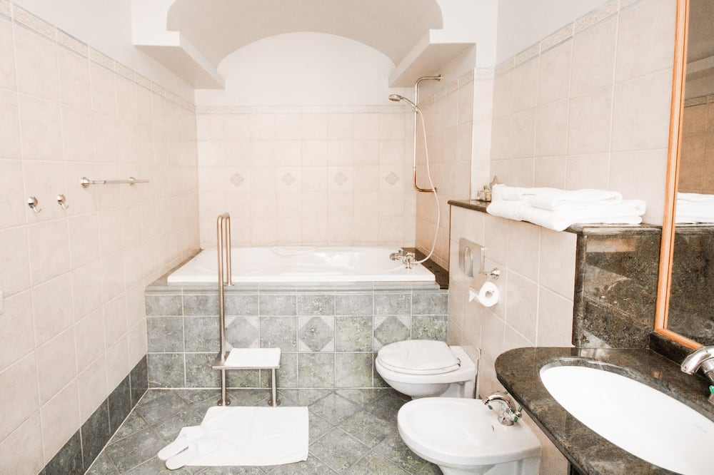 Deluxe-studiosviitti, 1 suuri parisänky - Kylpyhuone