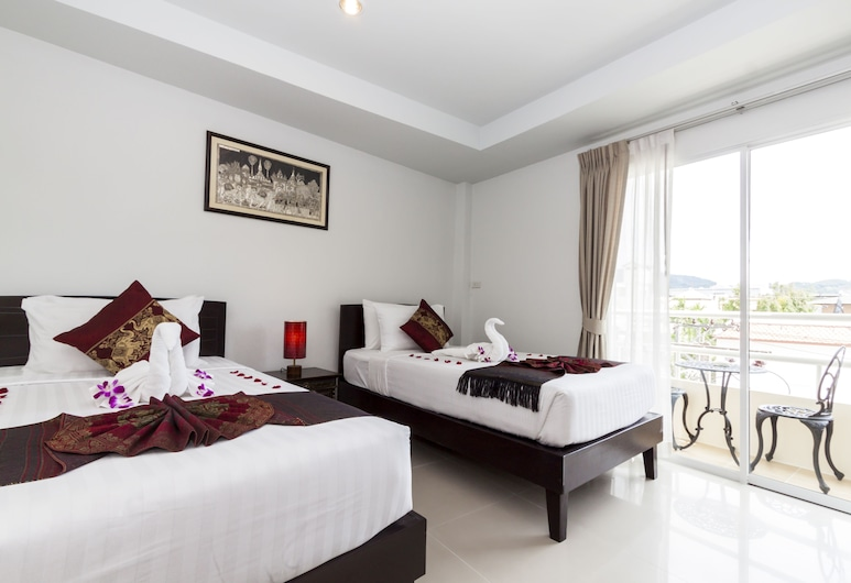 Silver Resortel, Patong, Deluxe Room, Guest Room
