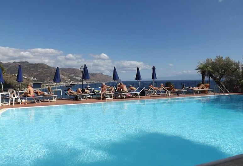 Bay Palace Hotel, Taormina, Venkovní bazén