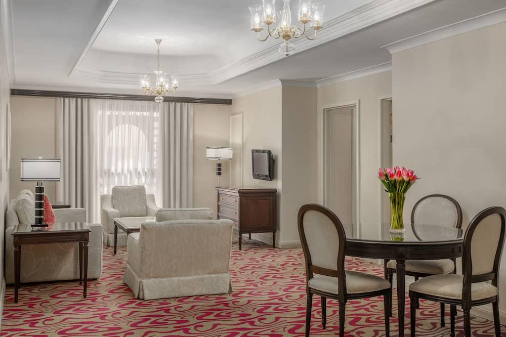 Suite Exécutive, 2 chambres, vue ville - Coin séjour