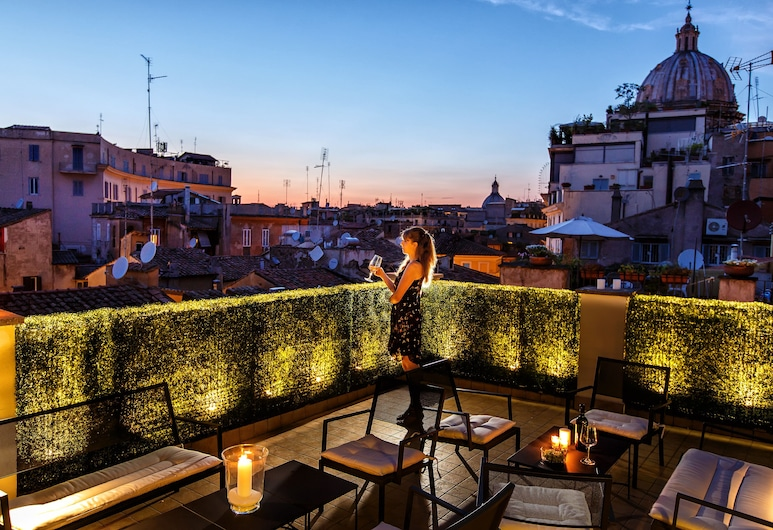 호텔 스메랄도, 로마