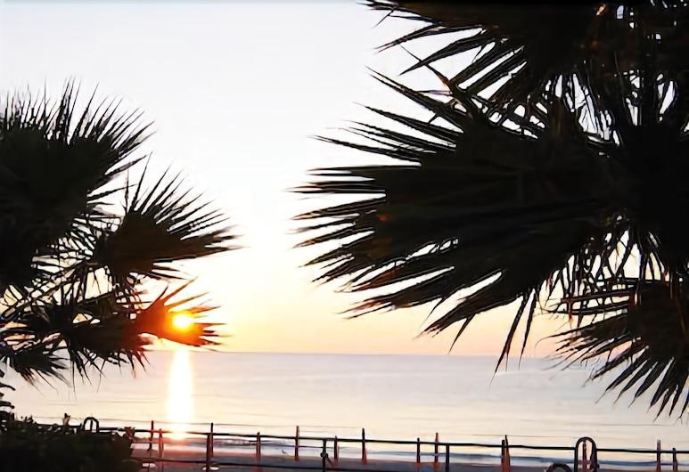Hotel Beau Rivage, Alassio, Pantai