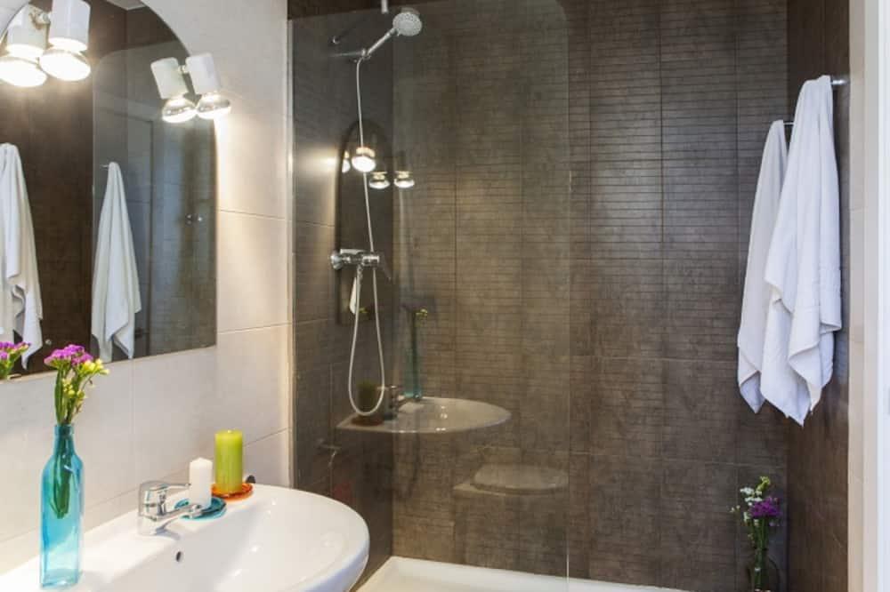 Apartment, 1 Schlafzimmer (CarrerDoctor Trueta, 228) - Dusche im Bad