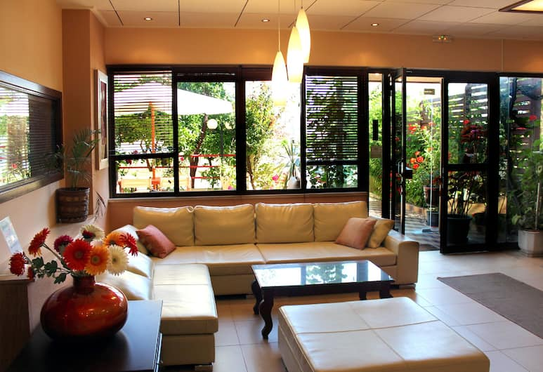 Philoxenia Hotel & Studios, Rodosz, Lobby társalgó