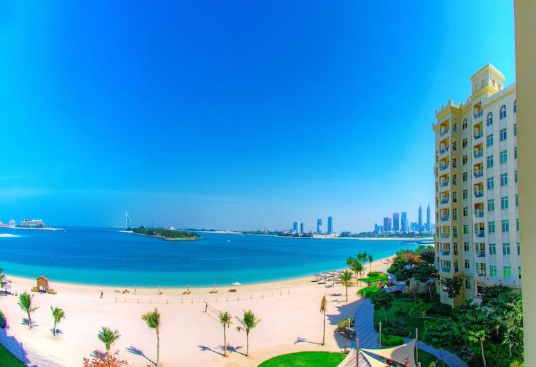 فندق رويال كلوب نخلة جميره, دبي, شقة - غرفة نوم واحدة - بمنظر للبحر, الغرفة