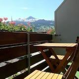 Dobbeltrom – deluxe, balkong, utsikt mot fjell - Balkong