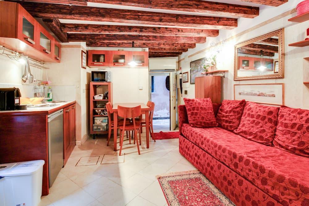 Štandardný apartmán, 1 spálňa (2 People) - Obývačka