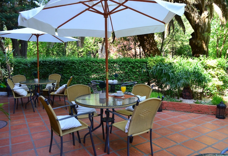 Posada del Bosque, Colonia del Sacramento, Terraza o patio