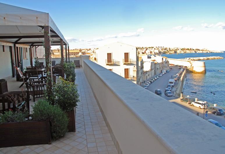 Domus Mariae Benessere, Siracusa, Terraza o patio