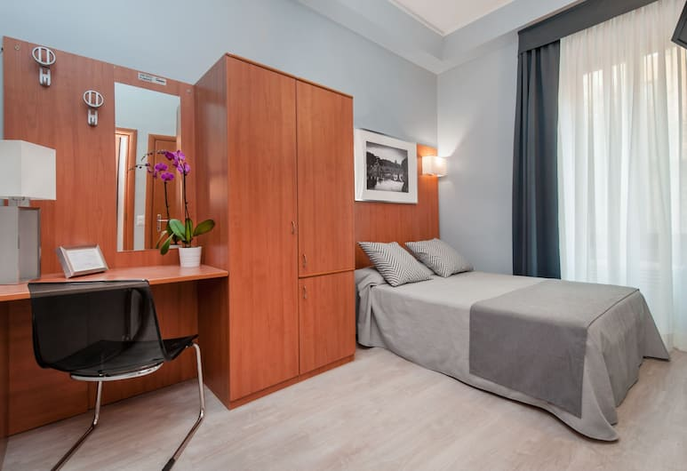 Hotel Roi, Rome, Single Room, Guest Room