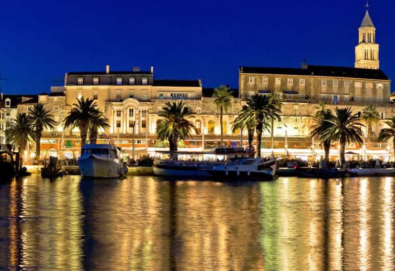 Hotel Marmont Heritage, Split, Blick vom Hotel