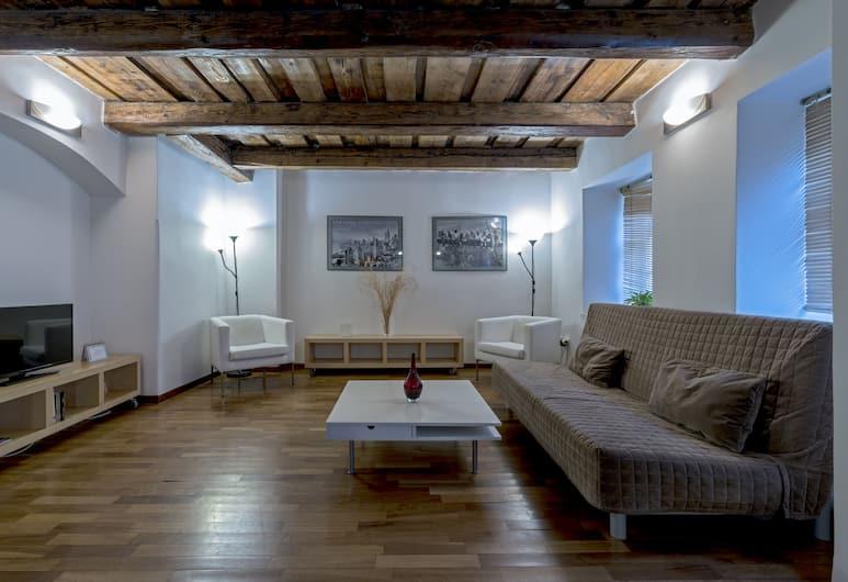 Royal Road Residence, Prag, Dubleks, 1 En Büyük (King) Boy Yatak, Küçük Mutfak, Asma kat, Oturma Alanı