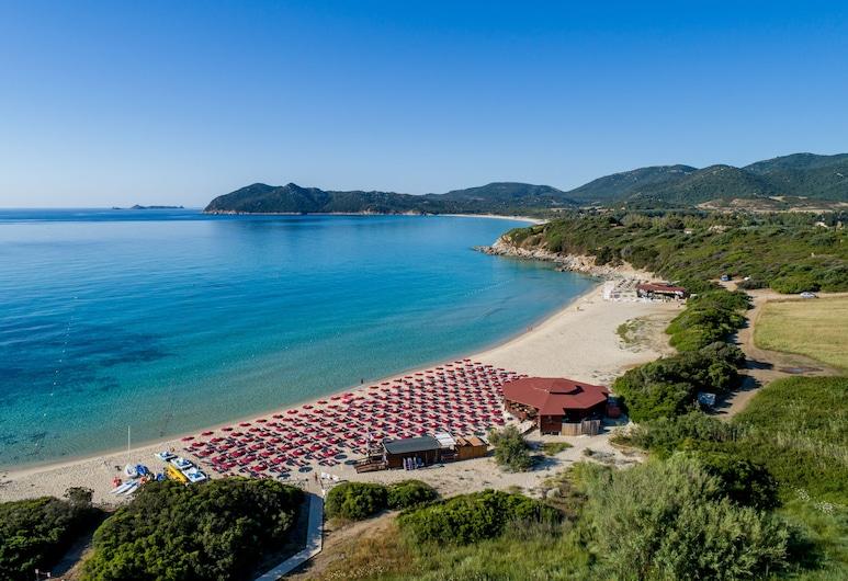 Sant'Elmo Beach Hotel, Castiadas, Beach