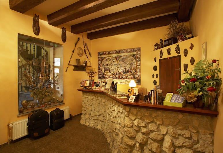Globtroter Guest House, Krakow, Resepsjon