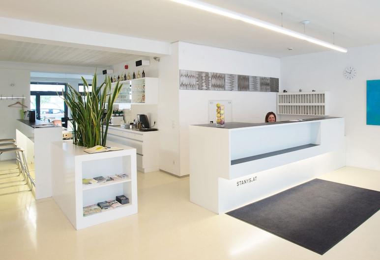 Stanys Das Apartmenthotel, Viyana, Resepsiyon