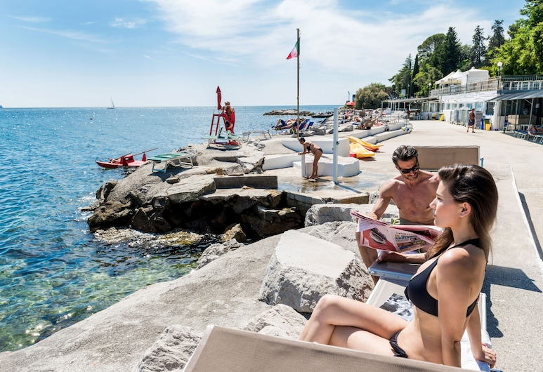 Hotel Miramare - Adults Only, Trieste, Spiaggia