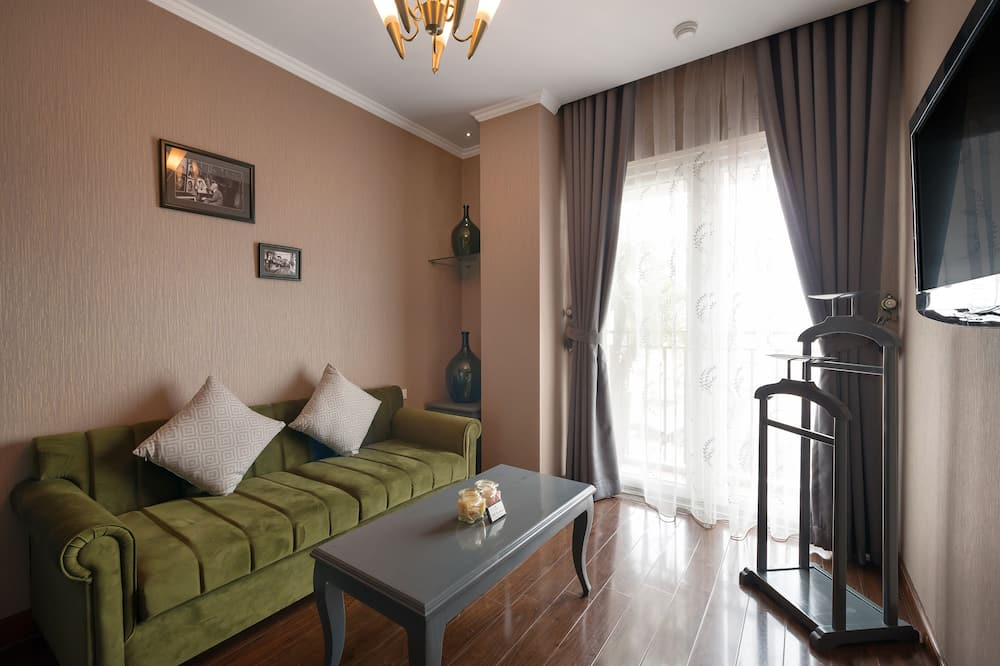 Essence Suite with Balcony  - Living Area