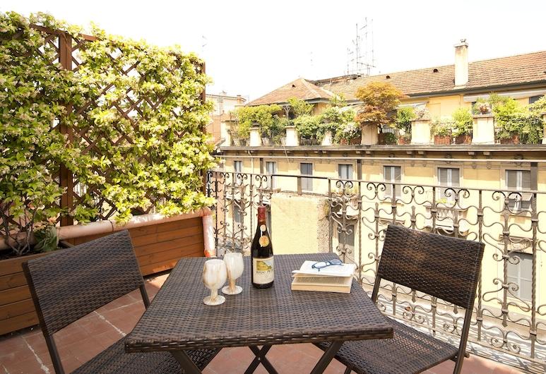 Panizza, Milano, Dobbeltrom (Small), Terrasse/veranda