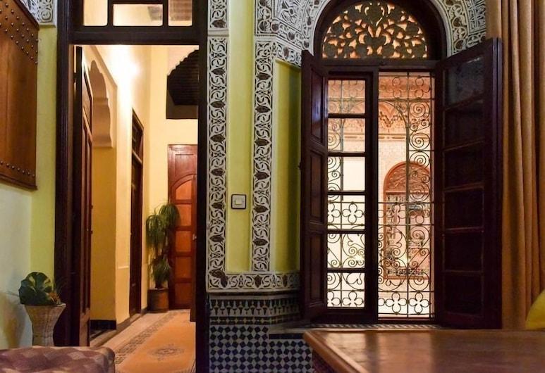 Riad Youssef, Fès, Suite, salle de bains privée (La Suite Azziza), Chambre