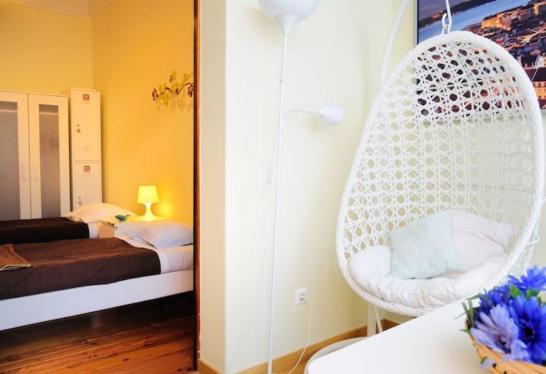 ليسبوا سنترال هوستل, لشبونة, غرفة لفردين - بحمام داخل الغرفة, غرفة نزلاء