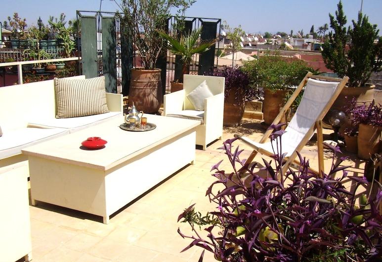 Dar Taliwint, Marrakech, Hotelový salónik